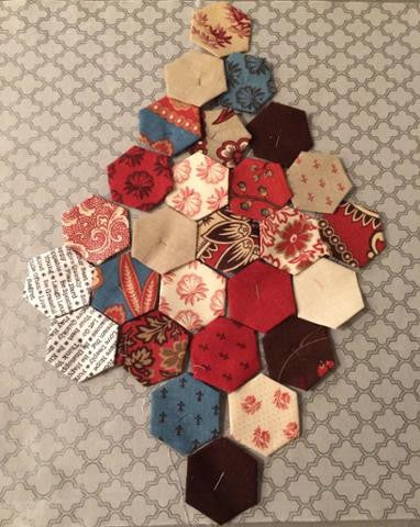 Hexies - traditional goes creative!