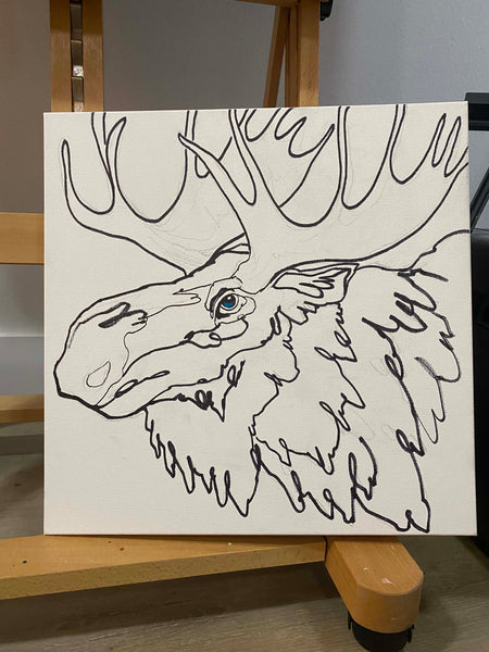 Unfinished Moose