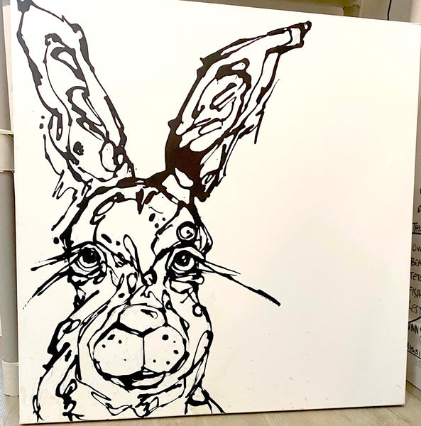 Unfinished Jack Rabbit