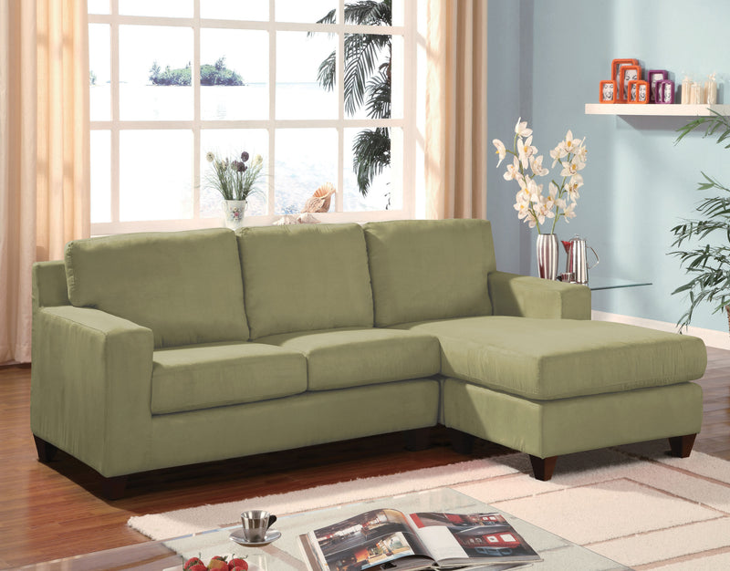 ACME 05915 Vogue Sectional Sofa Sage