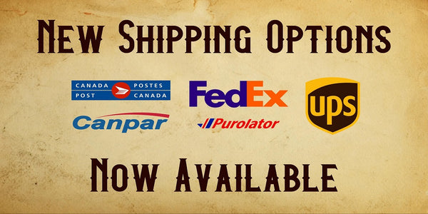 New Shipping Options Now Available!
