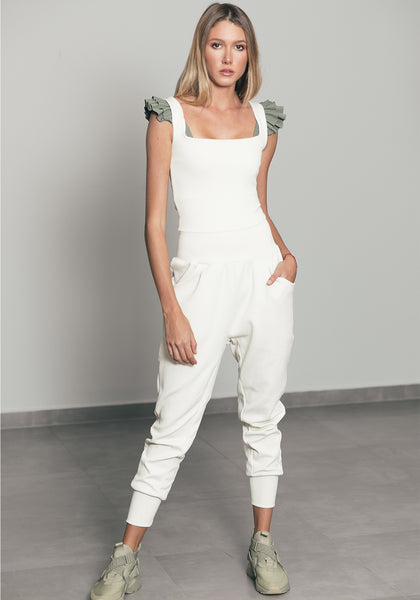 Alanna Jumpsuit Off White