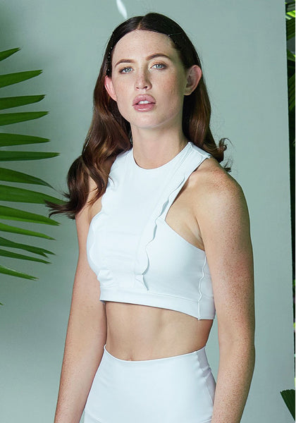 Celeste Top White / White Net