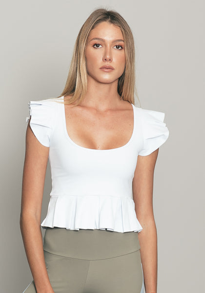 Cynthia Top White