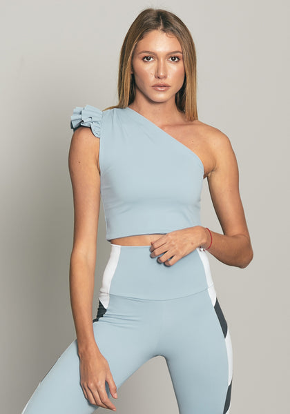 Elle Top Pastel Blue
