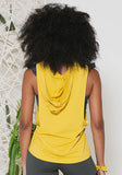 Pia Top Yellow