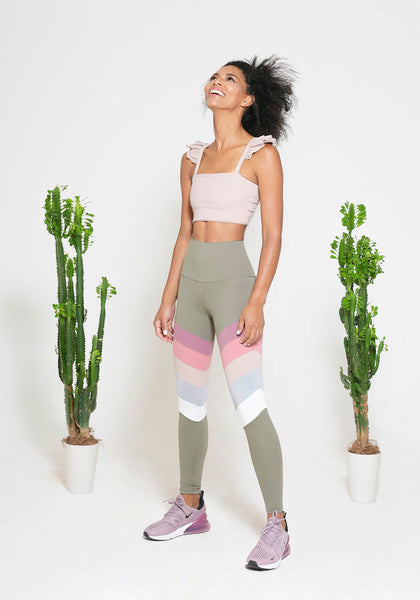 Rainbow Pastel Legging