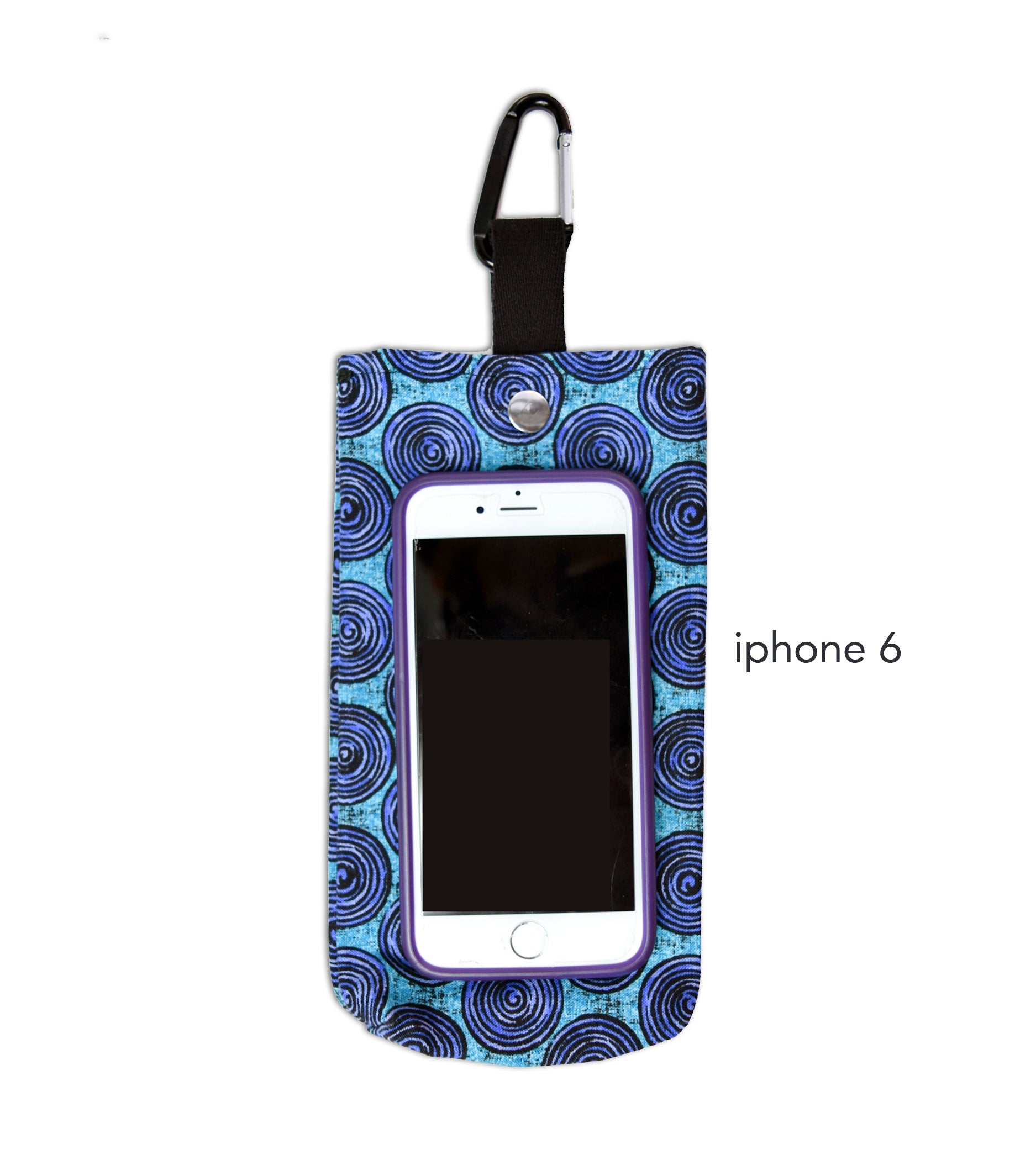 Funky Paisley Cell Phone Bag for Climbing