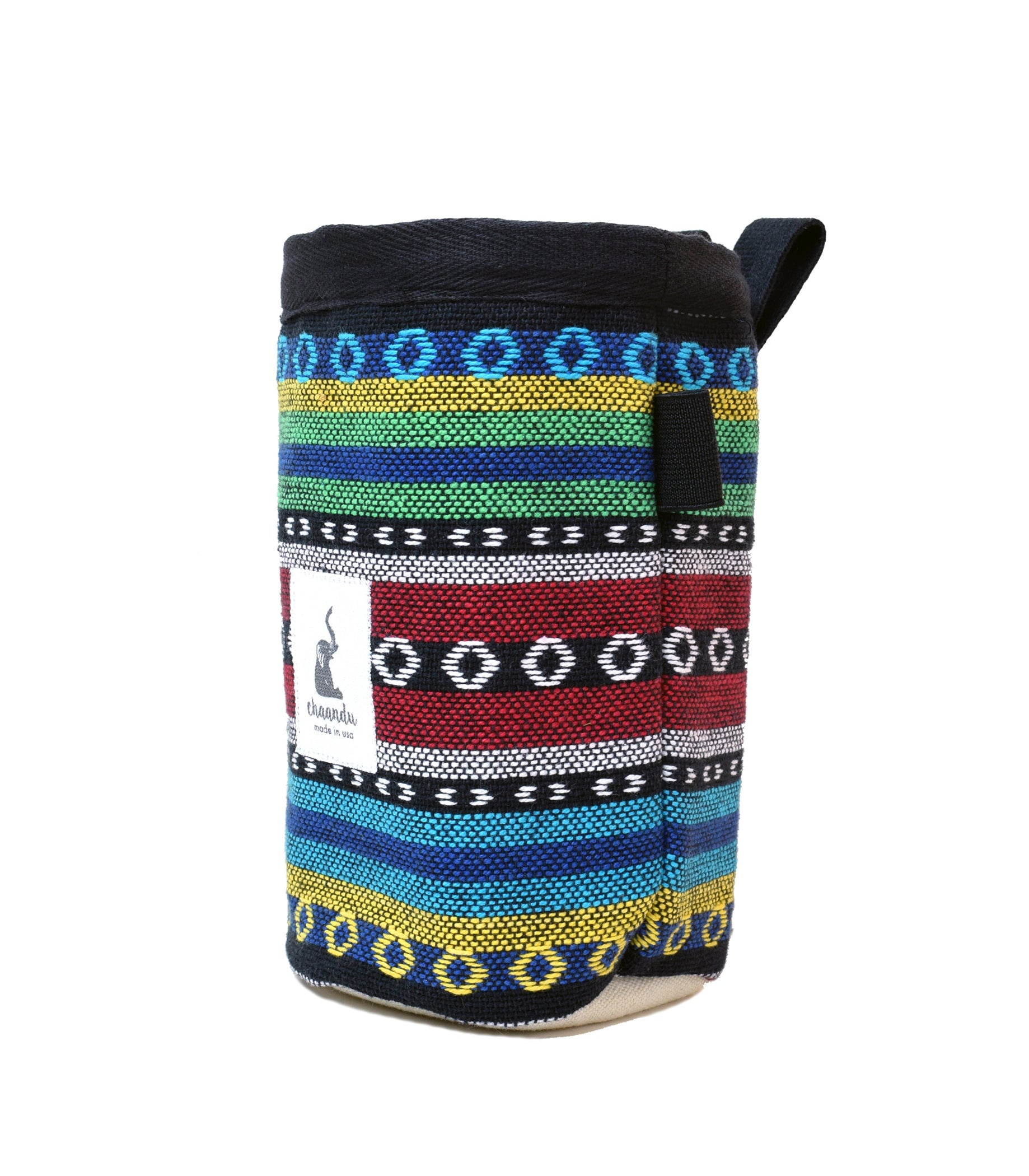 Green Tribal Chalk Bag with Belt