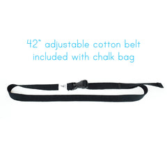 Green Chalk Bag with Belt