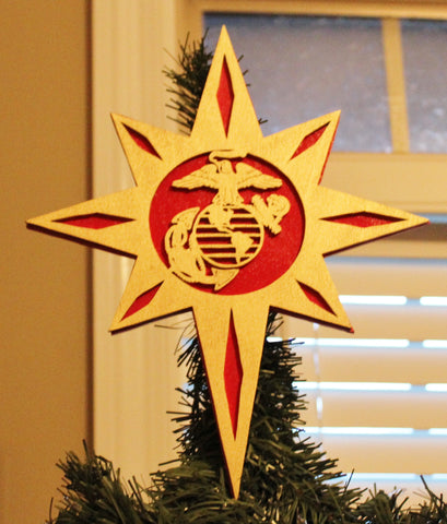 Marine Corps Christmas Tree Topper