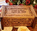 wooden urn personalized