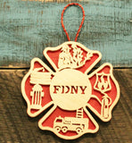 christmas ornament for fireman