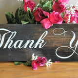 Thank You Sign For Weddings And Receptions