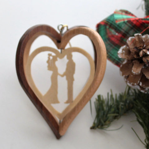 Our First Christmas Wood Ornament