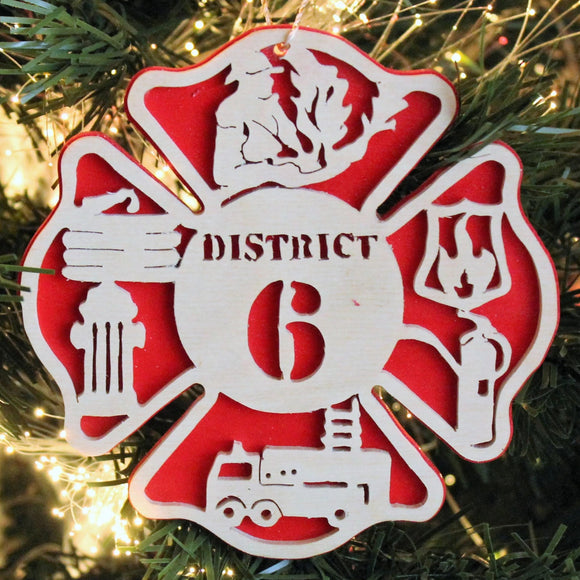 ornament for firefigner