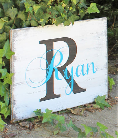 last name sign