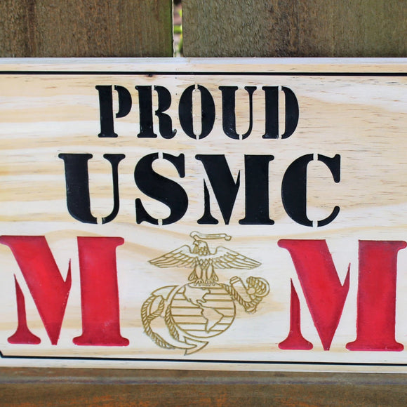 proud marine mom
