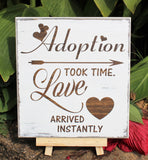 adoption announcement
