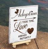 adoption wall art