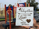 adoption sign