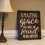 amazing grace how sweet the sound sign