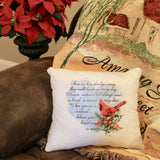 decorative throw pillow Christmas