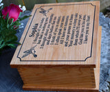 personalized keepsake box