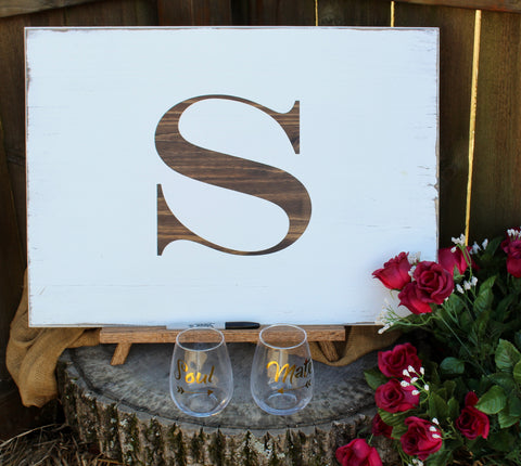 Rustic Wedding Guest Book Alternative - Unique Personalized Wedding ...