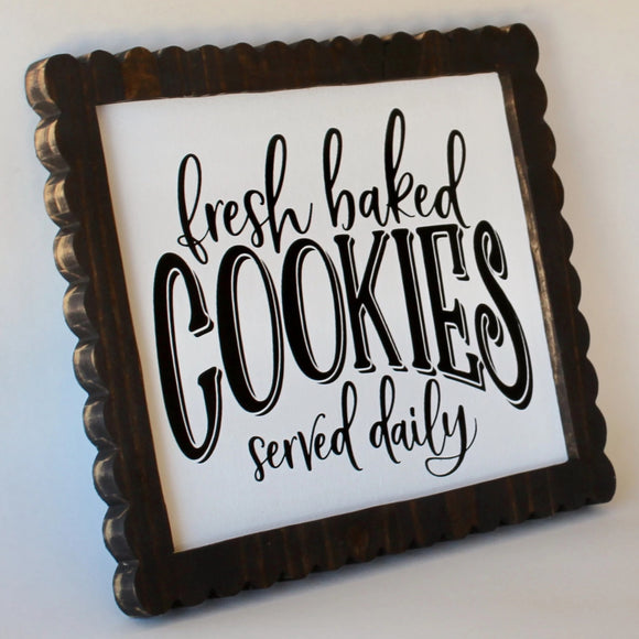 cookie sign