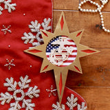 Marine Corps wood tree topper
