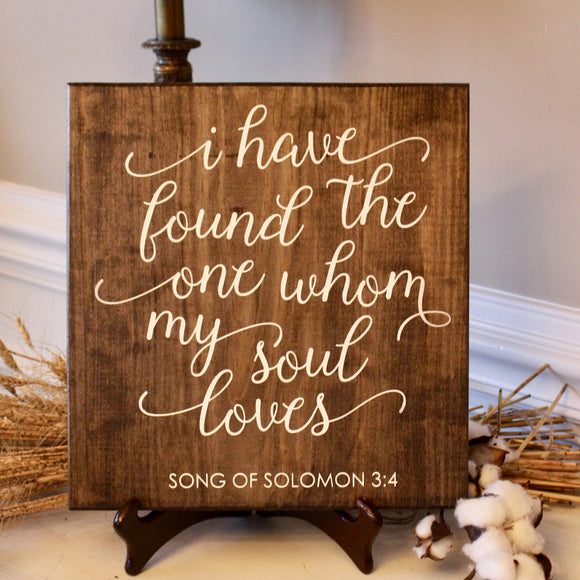 song of Solomon 3 4