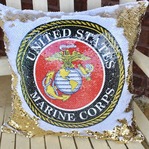 Marine Corps Pillow