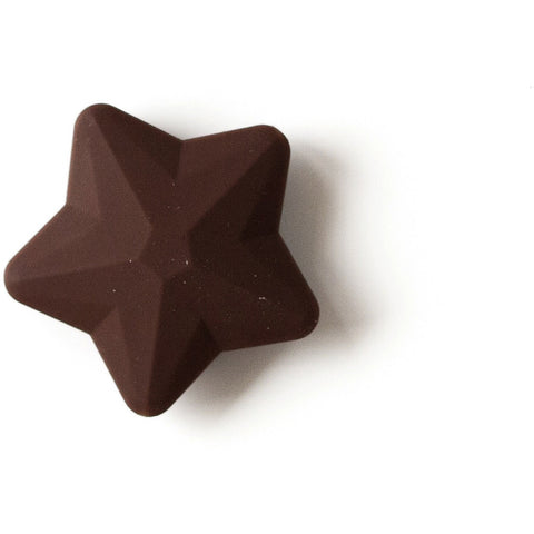 Star Faceted Chocolate Brown - Canadian DIY Supply