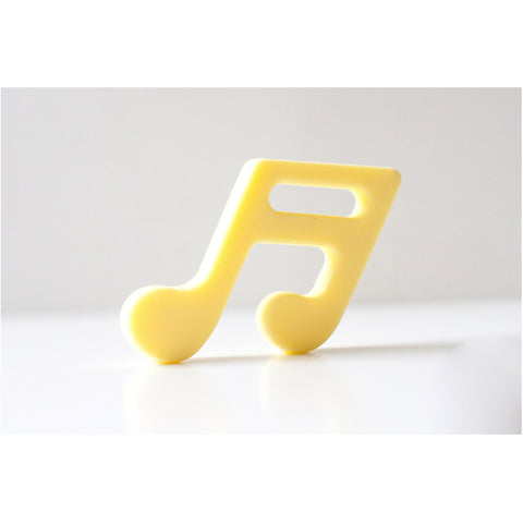 Music Note Yellow - Canadian DIY Supply