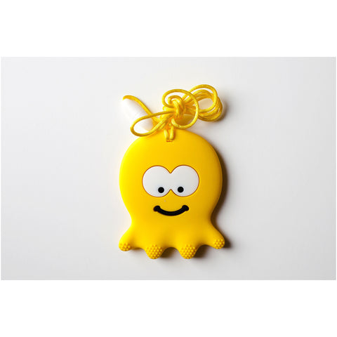 Octopus Teether Yellow - Canadian DIY Supply