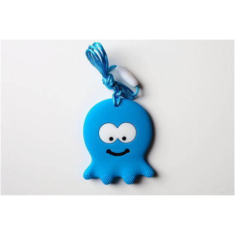 Octopus Teether Sky-Blue - Canadian DIY Supply