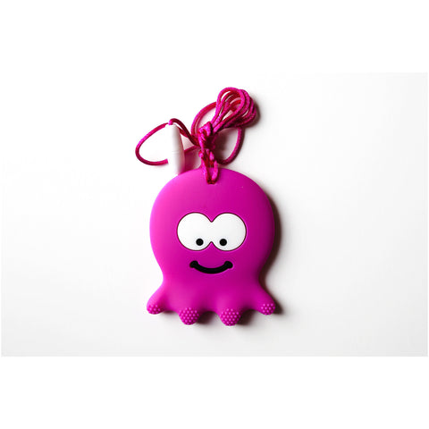 Octopus Teether Fuchsia - Canadian DIY Supply