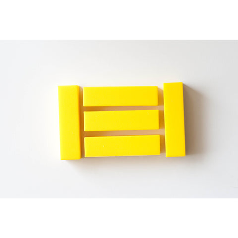 Rectangle Sunshine Yellow - Canadian DIY Supply - 1