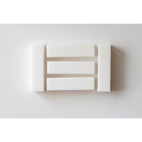 Rectangle White - Canadian DIY Supply - 1