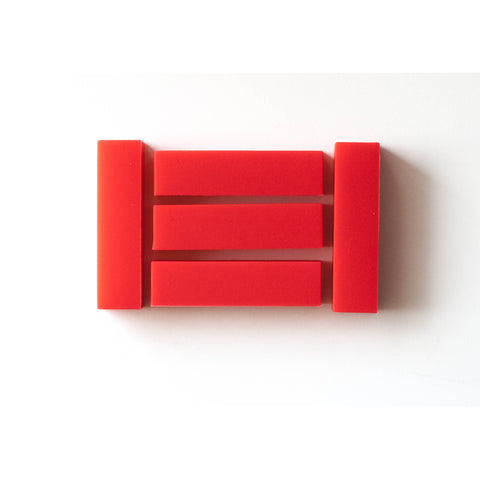 Rectangle Bright Red - Canadian DIY Supply - 1