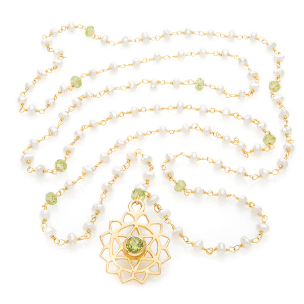 Anahata Chakra Pendant Necklace - The Sattva Collection