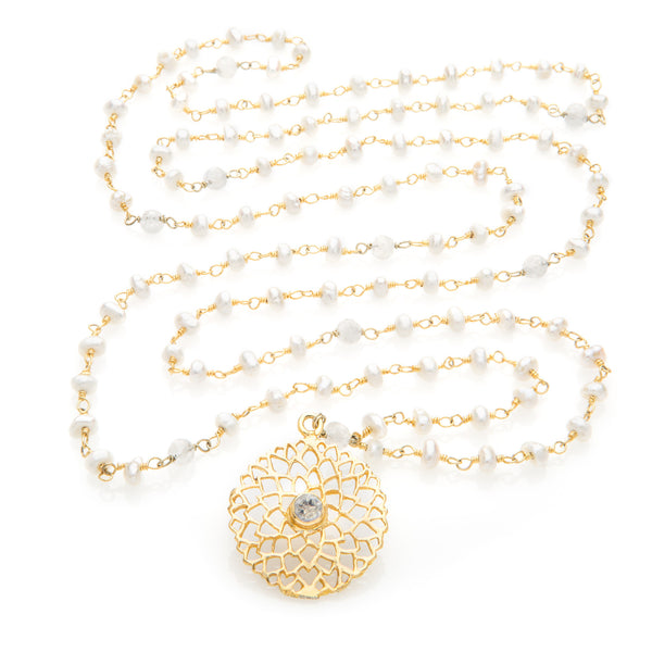 Saharasrara Chakra Pendant Necklace - The Sattva Collection