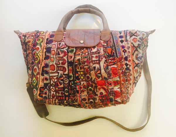 Handstitched Shakti Tote- MultiColors