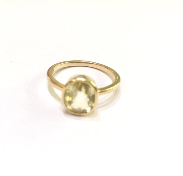 Astrological Gemstone Ring-Jupiter-Yellow Saphire