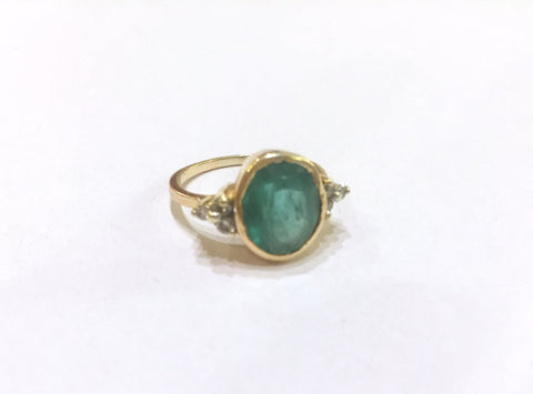Astrological Gemstone Ring- Emerald