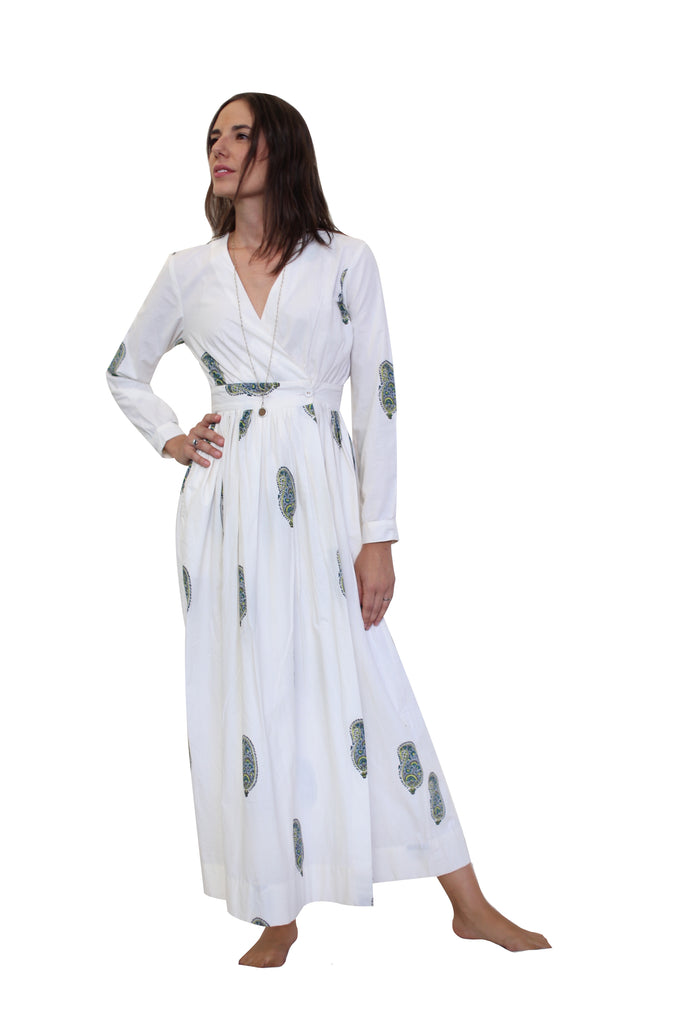 Lalita Dress White - The Sattva Collection