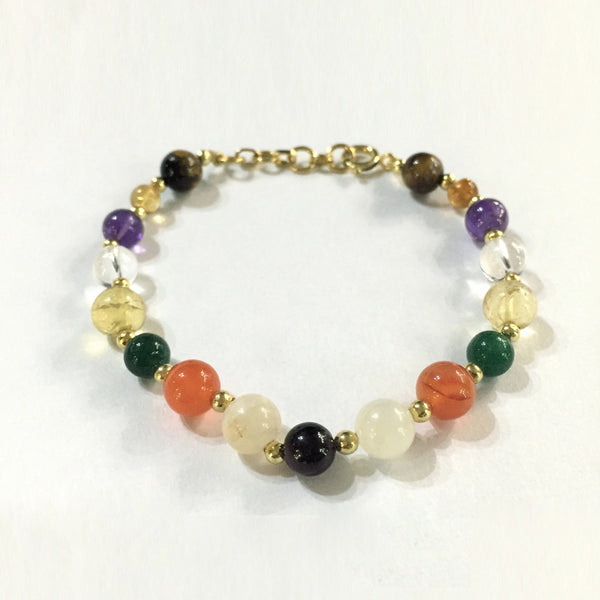 9 Planet Navratam Bracelet - The Sattva Collection