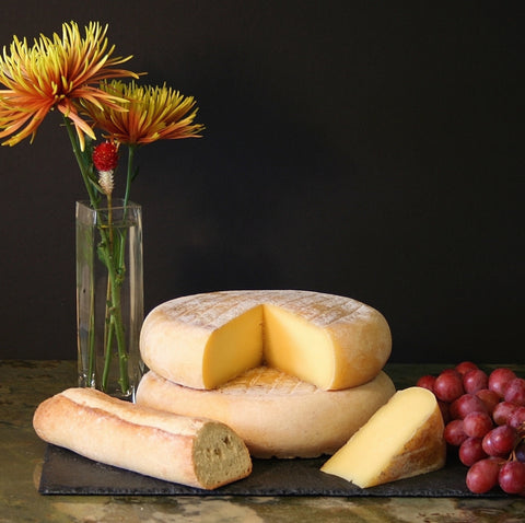 Raw Panoche Jersey Cheese from Claravale Farm - 1