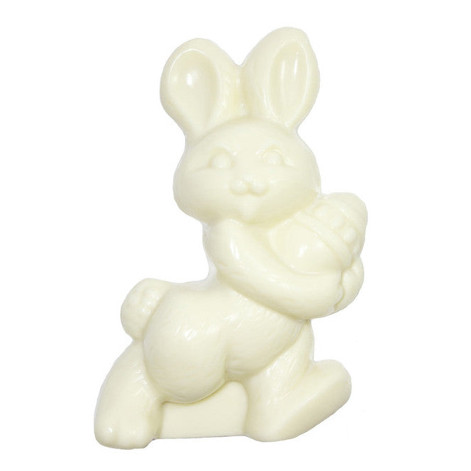 White Chocolate Rabbit with Egg